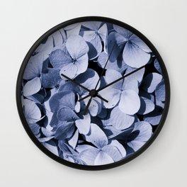 Blue-gray Wall Clock