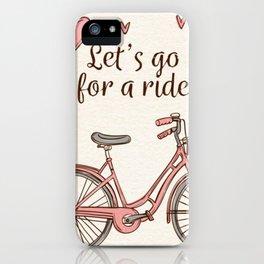 Quote Art #1 iPhone Case