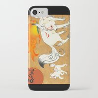 okami iPhone & iPod Cases featuring Okami! by Caroline.Sweet