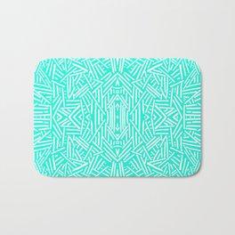 Radiate (Mint) Bath Mat