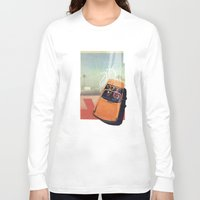 car Long Sleeve T-shirts featuring Getaway Car | Collage by Julien Ulvoas