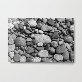 Beach Rocks 2 Metal Print
