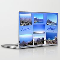 south africa Laptop & iPad Skins featuring South Africa Landscape by Art-Motiva