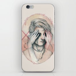 14/02 : Love is a blind iPhone Skin
