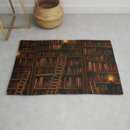 Night library Rug