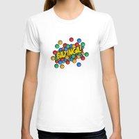 bazinga T-shirts featuring Bazinga! by Skeleton Jack