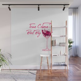 True Crime Bed By Nine Cute Passionate Mystery Detective Wall Mural