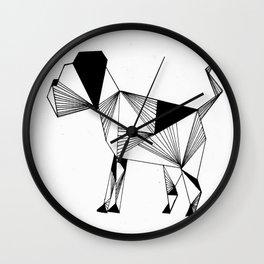 Hound Wall Clock
