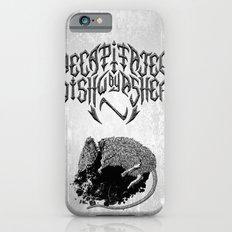 Decapitated by dishwasher I (white) iPhone 6s Slim Case