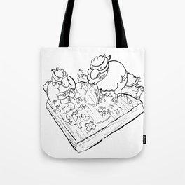 Ninja Strategy - ink Tote Bag