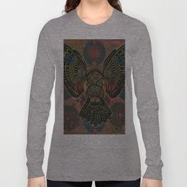 """Bronze Owl"" copyright Ray Stephenson 2013 Long Sleeve T-shirt"