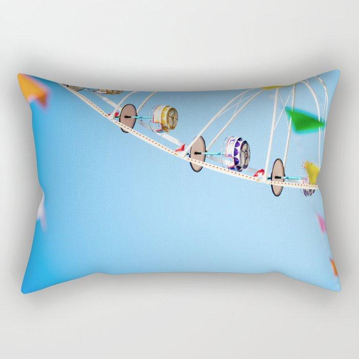 Manege sky colour Rectangular Pillow