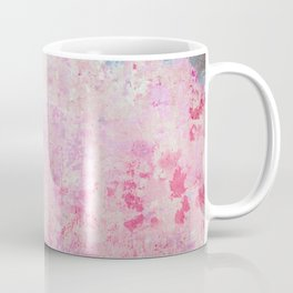abstract vintage wall texture - pink retro style background Coffee Mug