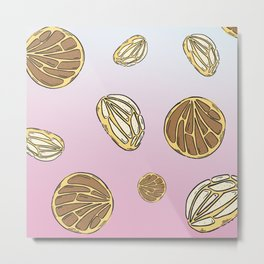 Conchas  Metal Print