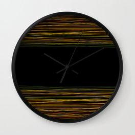 Abstract pattern 8 Wall Clock