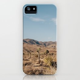 Joshua Tree, CA iPhone Case