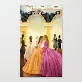 Palatial loves Canvas Print