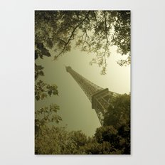 Eiffel Tower in Fall Canvas Print