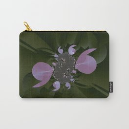 A plastic shiny bloom of a fractal plant Carry-All Pouch