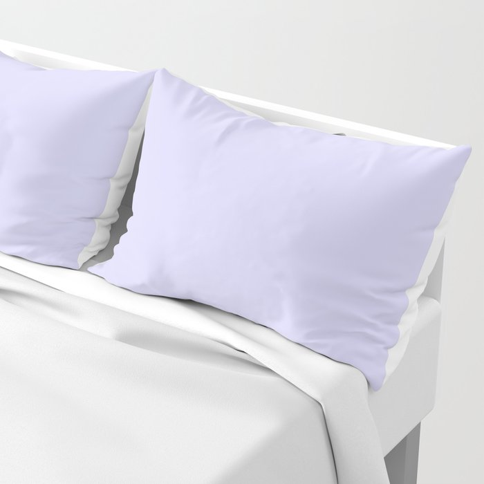 Simply Periwinkle Purple Pillow Sham