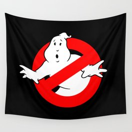 Ghostbusters Black Wall Tapestry