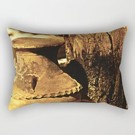 Ancient Jar Rectangular Pillow