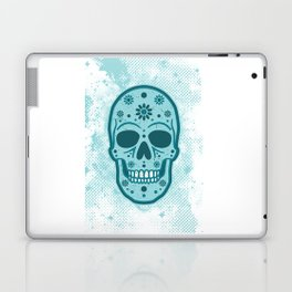 Sugar Skull Blues Laptop & iPad Skin