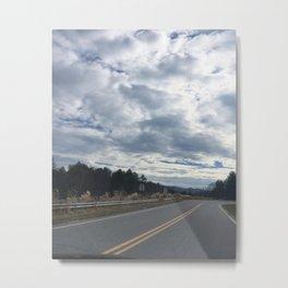 roadtrip drive Metal Print