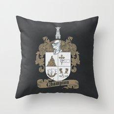 Champion Crest Throw Pillow