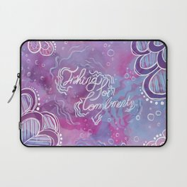 Fishing for Compliments Laptop Sleeve