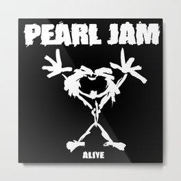 pearl rock music jam alive Metal Print