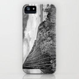 Lindisfarne Boat, Northumberland iPhone Case