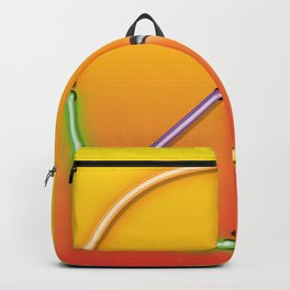PEACE Sign Neon Backpack