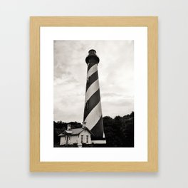 St. Augustine Florida Lighthouse Framed Art Print