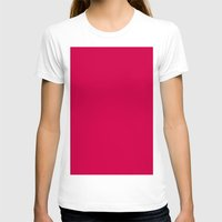spanish T-shirts featuring Spanish carmine by List of colors