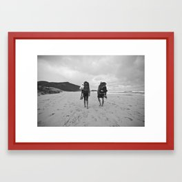 huj Framed Art Print