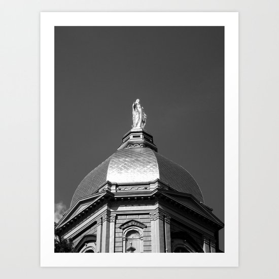 Golden Dome Art Print