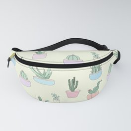 The Cactus Pattern Fanny Pack