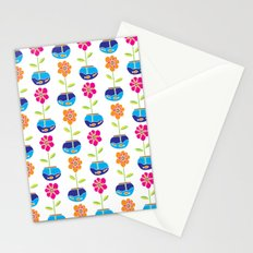 Fish Bowl Flowers Stationery Cards