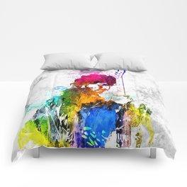 The Boss Bruce S. Grunge Comforters