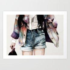 Jacket Art Print
