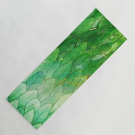 when the light hits the leaves Yoga Mat