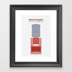 Essence Of Gawker Framed Art Print