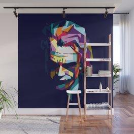 joker in colorful popart style Wall Mural