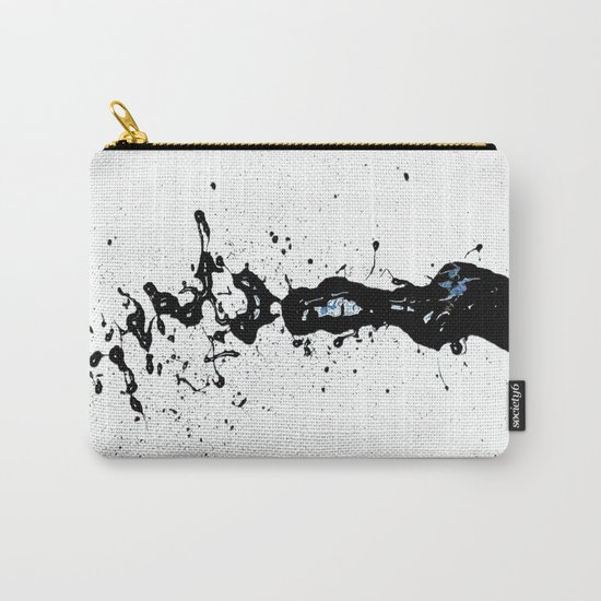 """Black Love (find the """"L"""") Carry-All Pouch"""