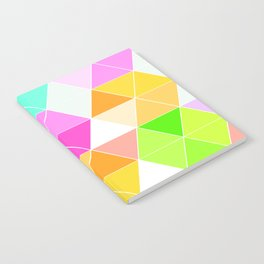 Colorful Triangle Mosaic Notebook