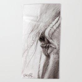 Perlino Eye Beach Towel