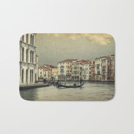 Gondola and gondoliere Bath Mat