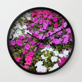 Cali Flora Wall Clock