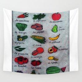 Frutas & Verduras Wall Tapestry